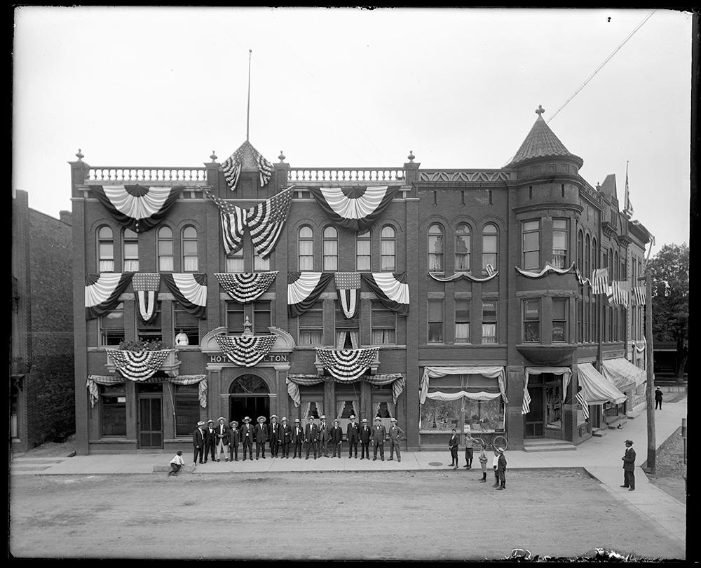 Hotel Hamilton, in 1909