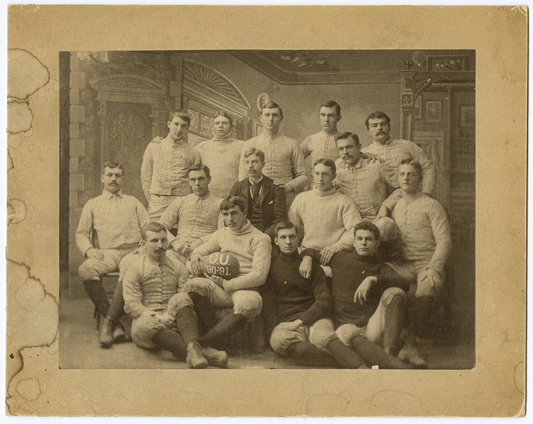 photo of the Colgate football team in 1891