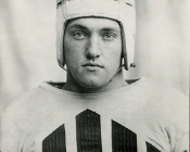 Daniel Fortmann '36 in Colgate football uniform