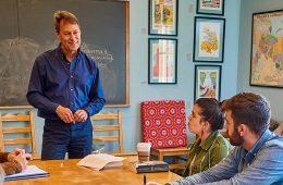 Ian helfant teaching a class