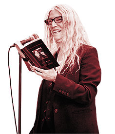 Patti Smith reading from her book, Just Kids