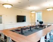 Interior of Jane Pinchin Hall classroom