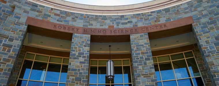 Outside shot of Ho Science Center