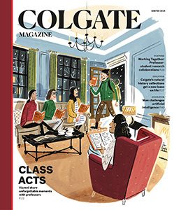 cover of winter 2019 Colgate Magazine