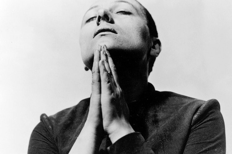 """still from """"The Passion of Joan of Arc"""""""