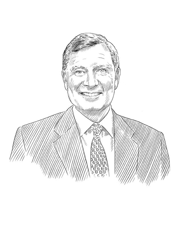 Sketch of Michael Herling