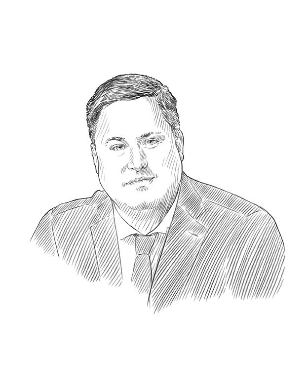 Sketch of J.S. Hope