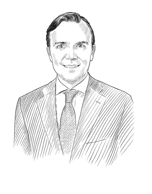 Sketch of Christian Johnson
