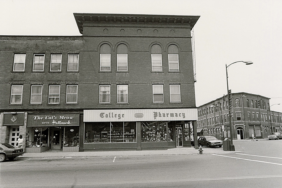Broad Street in the 1980s