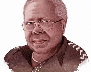 illustration of Frank Morris