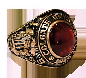 colgate class ring