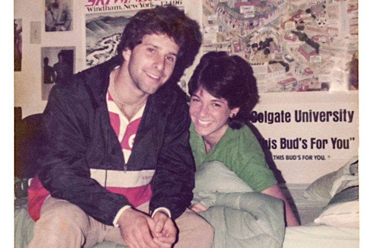 Archive photo of David Ganz and Kim Kramer