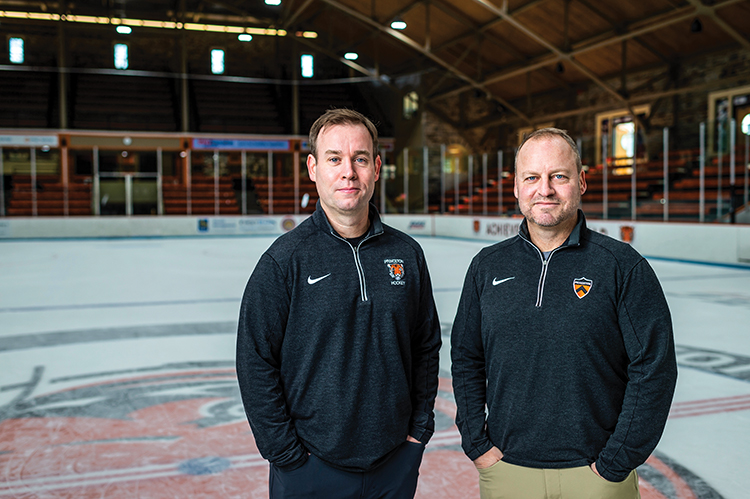 Ron Fogarty '95 and Brad Dexter '96