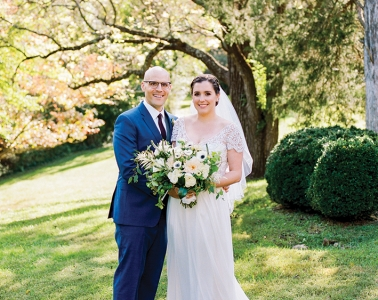Kevin Morgan '12 and Christy Butrus '13 getting married