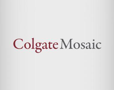 Colgate Mosaic wordmark