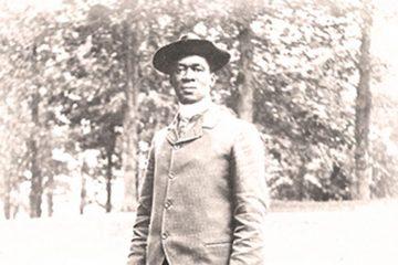 Black and white photo of Samuel Howard Archer