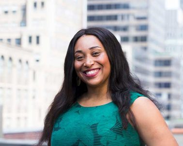 LeAnna Rice, the next director of the ALANA Cultural Center