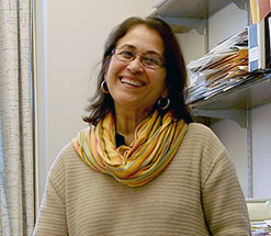 Portrait of Lourdes Rojas-Paiewonsky, Charles A. Dana Professor of Romance languages and literatures and Africana and Latin American studies
