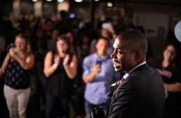 Antonio Delgado at an event.