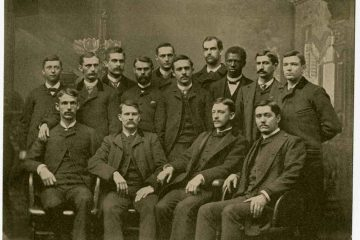 Class of 1887 group portrait
