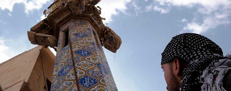 The minaret of a Sufi shrine