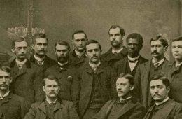 The Class of 1887, including Matthew Gilbert