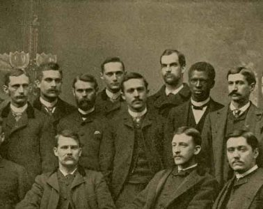 The Class of 1887, including Matthew Gilbert