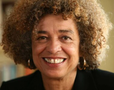 Head shot of Angela Davis