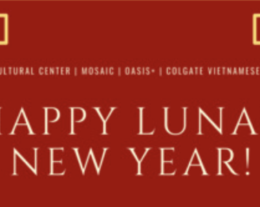 Happy Lunar New Year with Decorative Motif