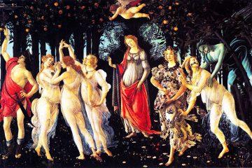 La Primavera - by Sandro Botticelli, 1482 - Alamy