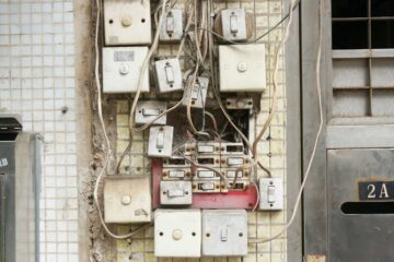 wires and light switches
