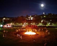 Homecoming 2013 bonfire