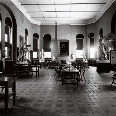 James B. Colgate – Library reading room