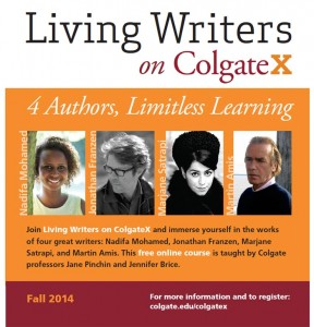Living Writer Series Fall 2014