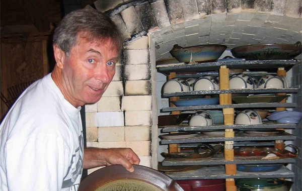 Jim Young of Vanhollow Pottery