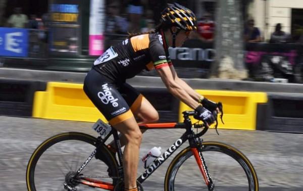 Kathryn Bertine in La Course by Tour de France