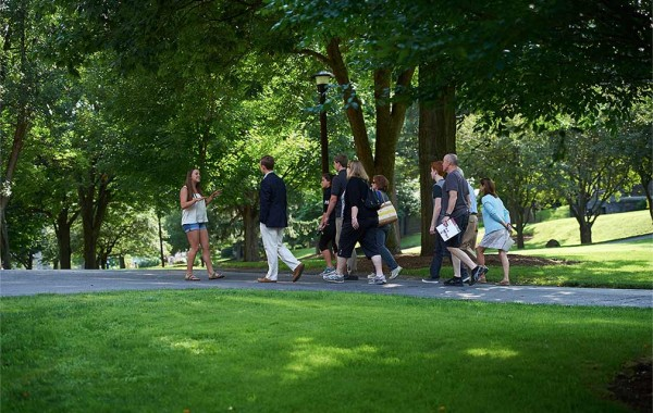 Campus tour by Katie Williams '15