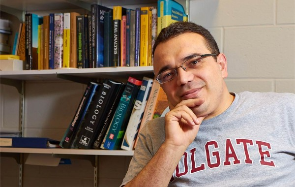 Professor Ahmet Ay. (Photo by Dylan Crouse '15)