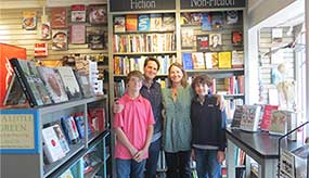 Gretchen '93 and Peter Menzies '93 and family