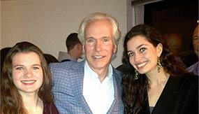 Scott Donahue '76 with daughters Savannah '17 and Lara '14 at Fall Ball 2014