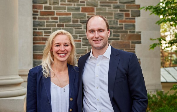 Emily H. Bradley '10, Karl D. Fries '10