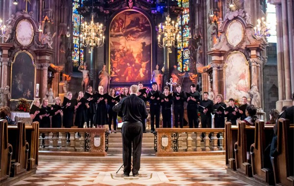 Chamber singers in vienna
