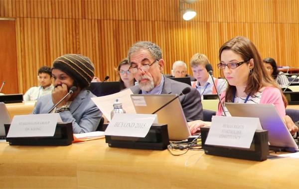 Jack Kupferman during a UN Economic meeting