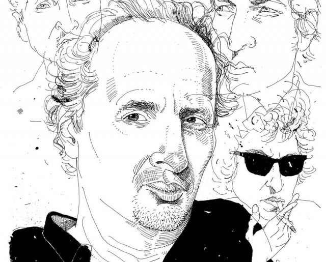 Illustration of Peter Balakian