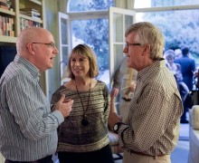 David McCabe chats with Ray and Helen Hartung