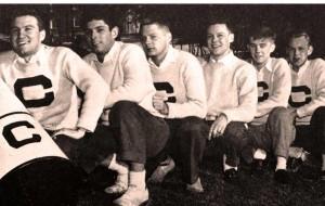 Colgate Cheerleading team in 1946.