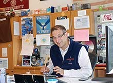 Noah Wintroub '94 at his office desk
