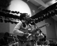 Bob Marley performing at Colgate