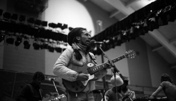 Bob Marley performing at Colgate