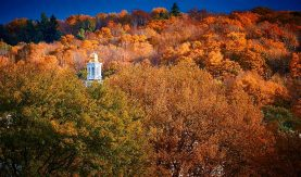 Autumn returns to the hill. (Photo by Andrew Daddio)